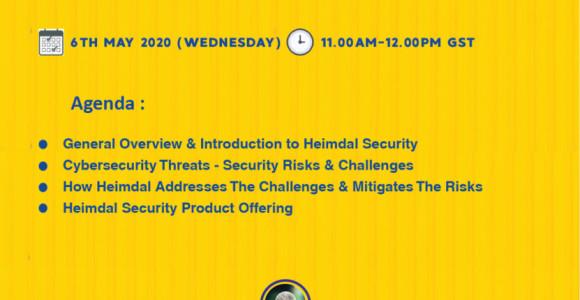 Heimdal Security End-Customer Webinar Invitation-6th May 2020