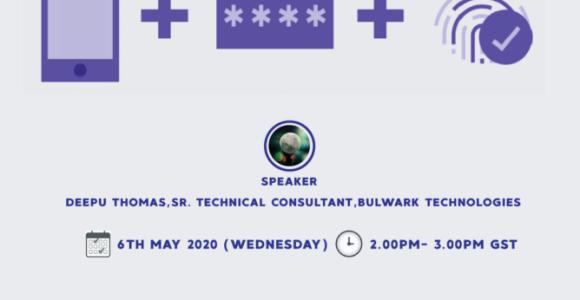 SecurEnvoy Webinar Invitation -6th May 2020