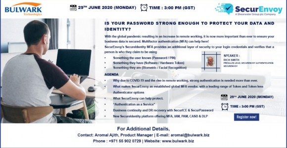 SecurEnvoy Webinar Invitation